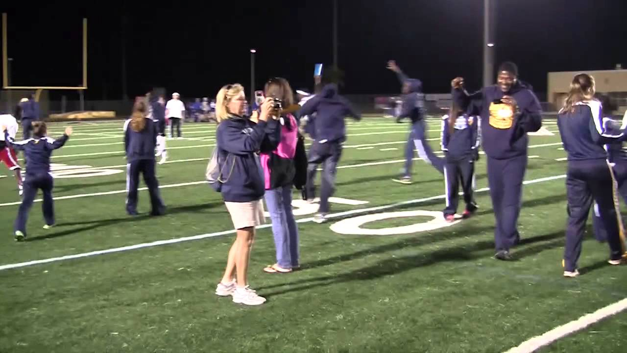 CCAC Naples High School TrackTeam Celebrating - YouTube