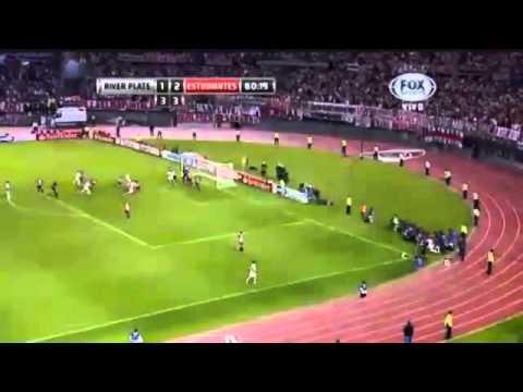 Goles River Plate campeón Copa TOTAL Sudamericana 2014