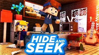 Minecraft - BABY HIDE AND SEEK | Versteckt im Who's Your Daddy Haus!