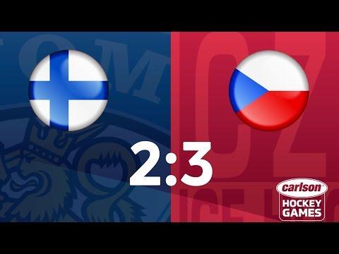 Češi otočili zápas s Finy. Tady jsou všechny góly povedeného obratu
