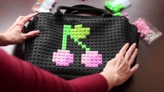 Cумки и рюкзаки Pixels. Сделай свой рисунок!