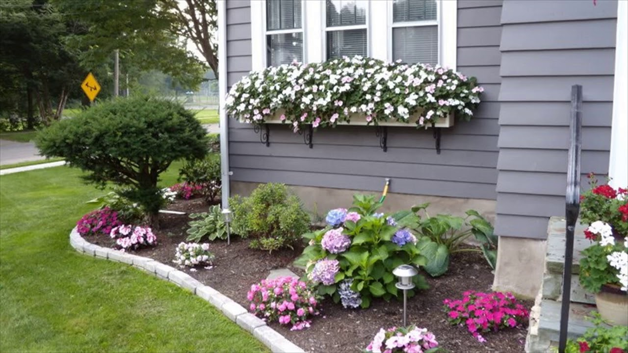 small flower bed ideas front