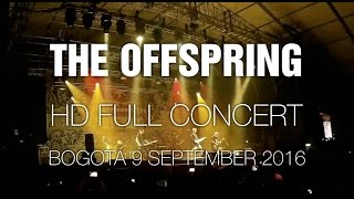 The Offspring [HD Full Concert] @ Bogotá 9 sep 2016 Rock & Shout
