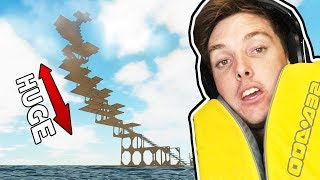 HUGE RAFT TOWER! - Bermuda Lost Survival #2