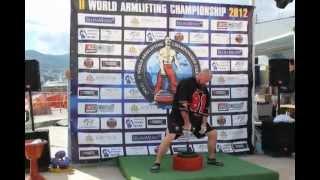 2-ой Чемпионат Мира по армлифту: Ялта'2012
