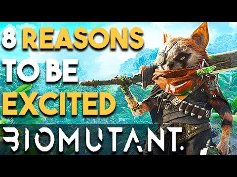 8 Reasons You NEED to Be Excited for BIOMUTANT (New OPEN WORLD RPG Game 2018)