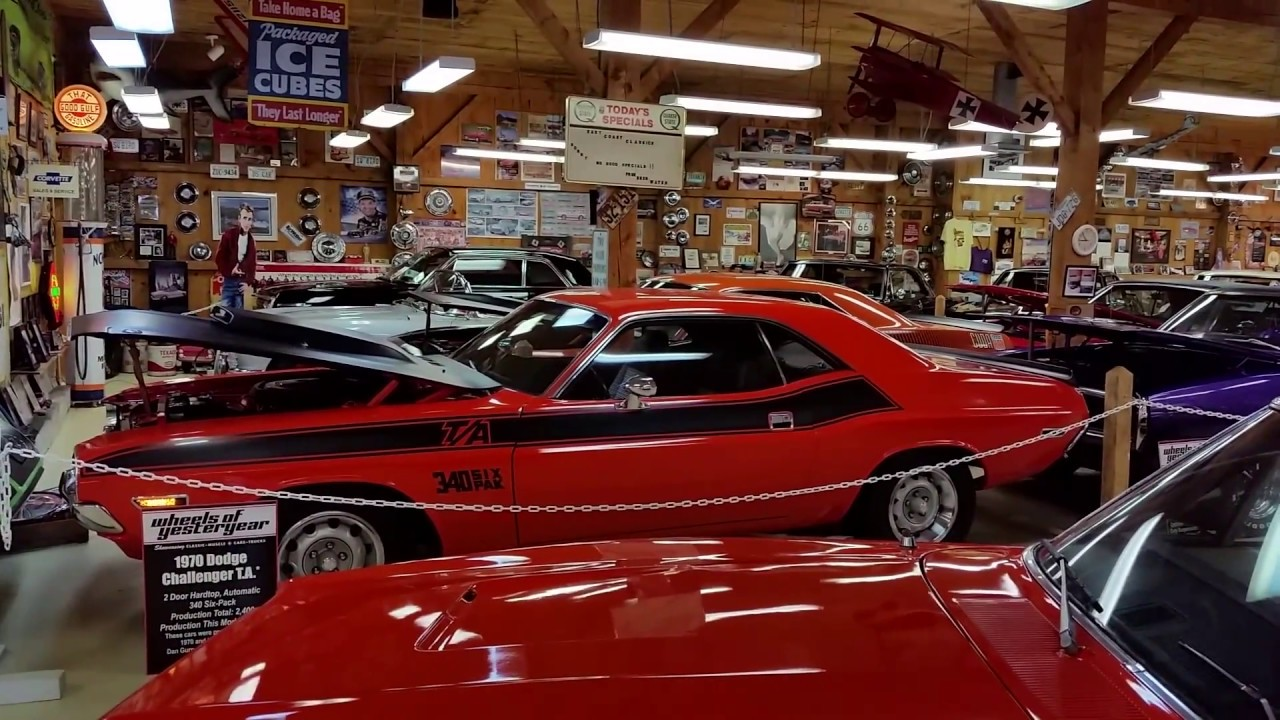 Classic Muscle Cars - Wheels of Yesteryear, Myrtle Beach, South ...