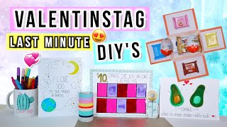 Valentinstags Diys 💕🆘 Last Minute Geschenkideen Zum Valentinstag 2020 🎁 Cali Kessy
