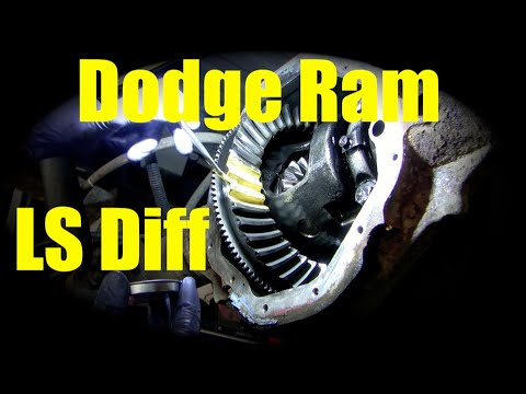 Dodge Limited Slip diff repair part 1 Inspection How to adjust backlash