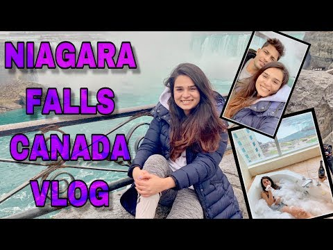 NIAGARA FALLS CANADA - BIRTHDAY VLOG ! TICKED OFF MY BUCKET LIST !