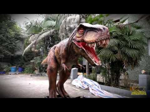 7 Meters Long Artificial T-Rex Model