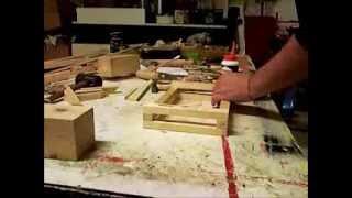 Catapulta di Leonardo da Vinci-costruita da Roberto Uldanc