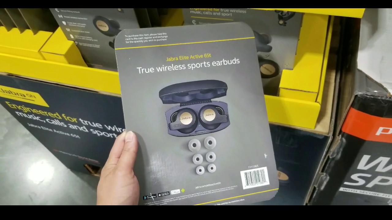 Costco! Jabra Elite Active 65T Wireless Headphones w/ Charge Case! $149!!!