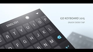 gO Keyboard - The Best Android Keyboard ever