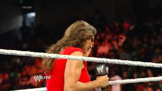 ♦♦Kane♦♦ attaque •••Daniel Bryan••• : Raw ○ 22 avril 2014