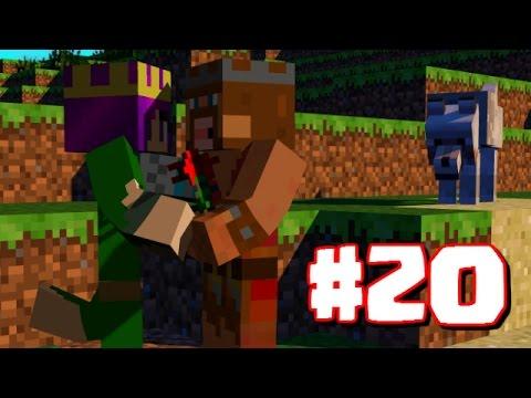 """ARCHER QUEEN COMES TO VISIT!""| Minecraft Clash King's Survival Part 20"