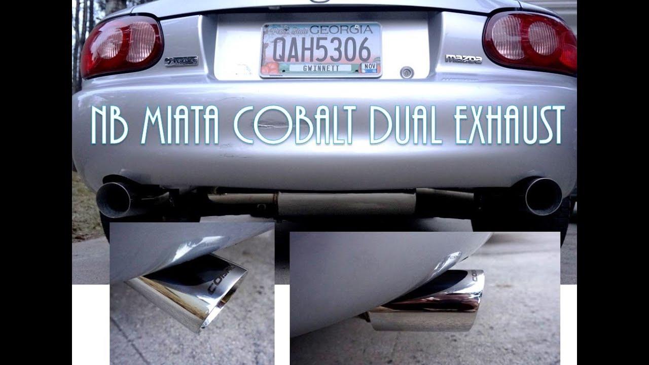 mazda mx5 nb exhaust by 707rara