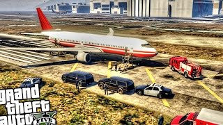 Plane Bomb Threat - GTA 5 PC MOD