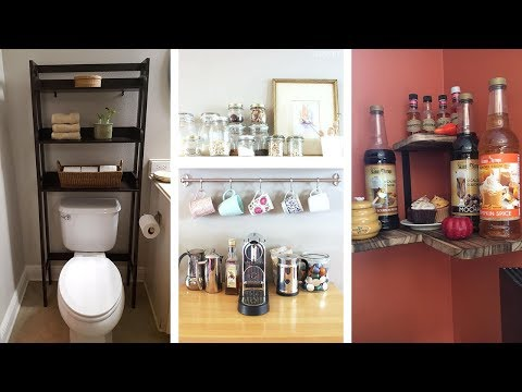 25 Super Smart Storage Ideas for Small Space Living