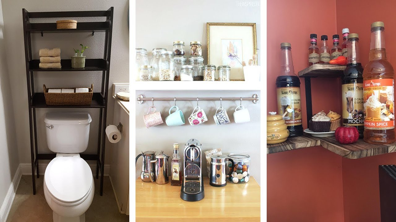 25 Super Smart Storage Ideas For Small Space Living Youtube