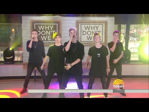 Why Don't We - Something Different   Today Show