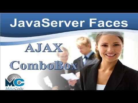 JSF AJAX ComboBox