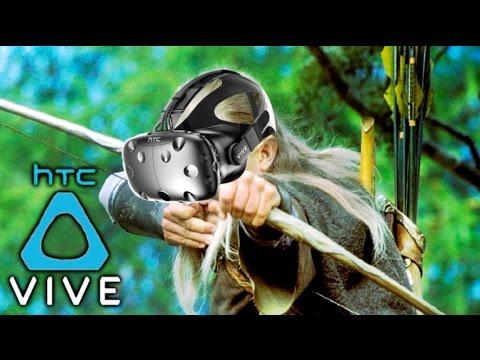 HTC VIVE - BATALLA MEDIEVAL !! SOY LEGOLAS !! XDD MI PRIMERA VEZ EN REALIDAD VIRTUAL !! Makiman