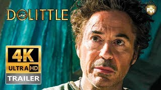DOLITTLE (2020) Official Trailer #1 [4K Ultra HD] Tom Holland, Robert Downey Jr | Future Movies