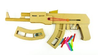 AK-47 Model Oluşturmak için nasıl Vuruyor