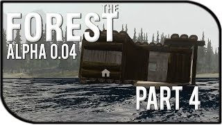 The Forest Gameplay Part 4 - House boat! (v0.04)