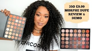 One of Tammi Clarke's most viewed videos: 35O MORPHE DUPE FOR £10! REVIEW & DEMO