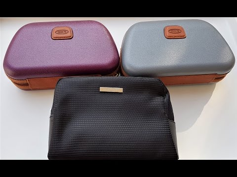 Qatar Airways Business Class Amenity Kits | BRICS Men's Kit | Women's Kit | Armani Men's Kit