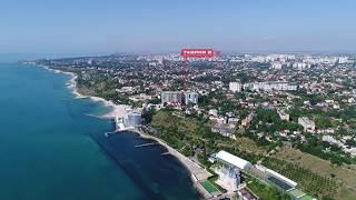 Пляжи на 10-й и 11-й Станции Большого Фонтана в Одессе