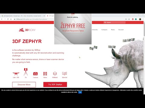 Video Guide - 3DF Zephyr, Photogrammetry and 3D Scan Free Download and Install