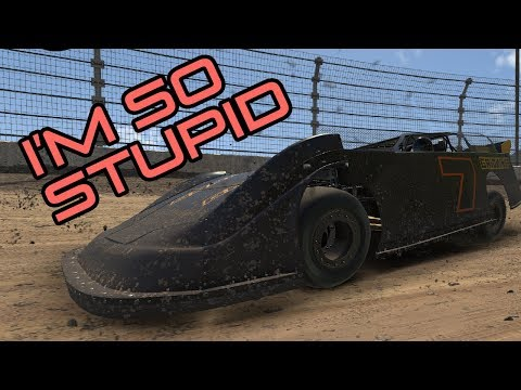iRacing | Being Stupid Driving Dirt Super Late Models at Kokomo with my Dad
