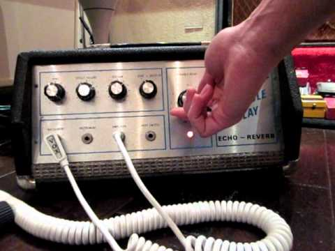 Fender Variable Delay Oil Can Echo Reverb Tel-Ray Adineko ...
