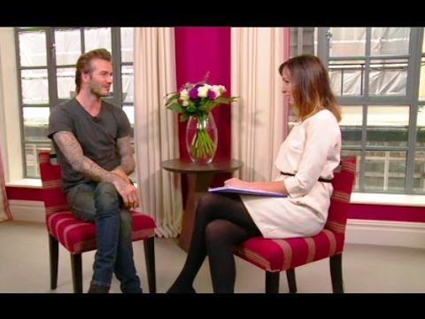 Beckham On The Man Scarier Than Sir Alex Breakfasts Full Interview