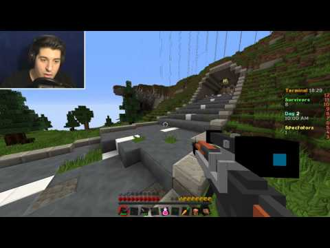 MINECRAFT: HUNGER GAMES WITH GUNS!!!! w/Bloodmaster