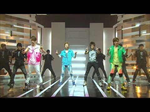 【TVPP】SHINee -  Lucifer, 샤이니 - 루시퍼 @ Comeback Stage, Show Music core Live