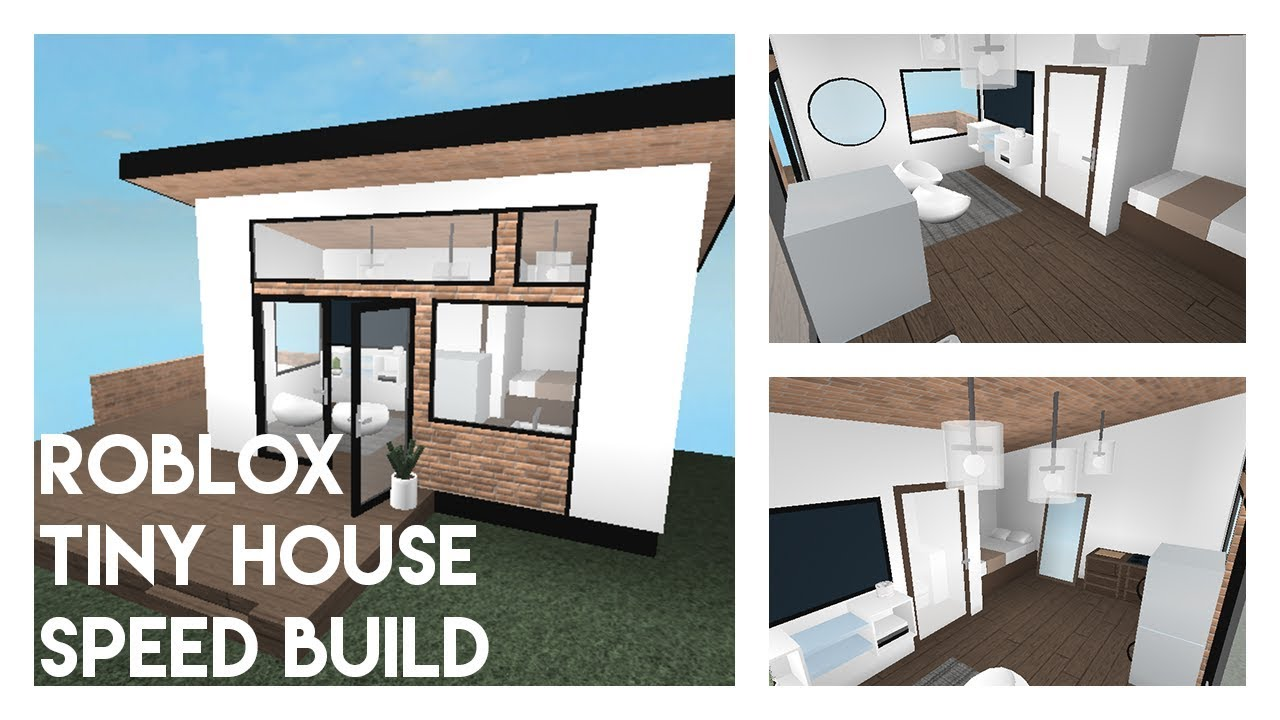 How To Build A House In Roblox Studio Roblox Studio Tiny House Speed Build Bruh Youtube