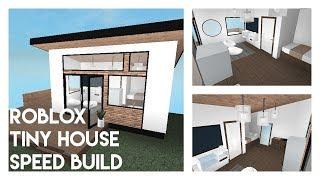 ROBLOX Studio Tiny House Speed Build! | Bruh...