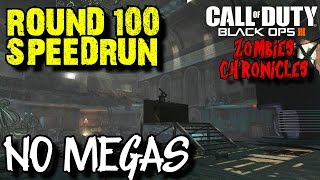 ZOMBIES CHRONICLES: ROUND 100 SPEED RUN (FAIL) ON KINO DER TOTEN - NO MEGA GUMBALLS!
