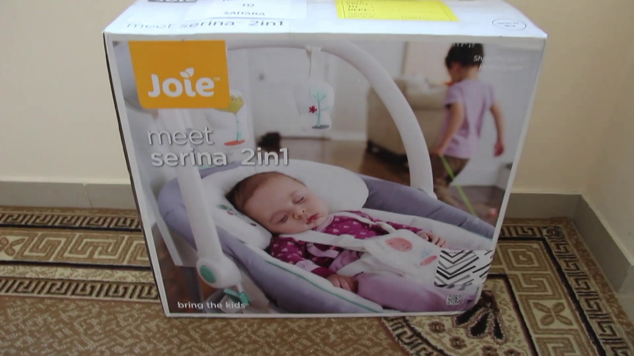 Joie Baby Swing Rocker Joie Serina 2 In 1 Baby Swing Unboxing