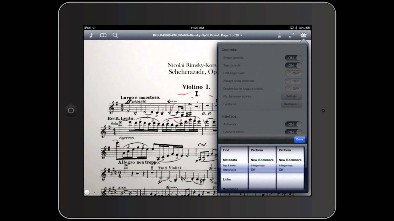 How To Annotate Digital Sheet Music On Your Ipad With David Kim