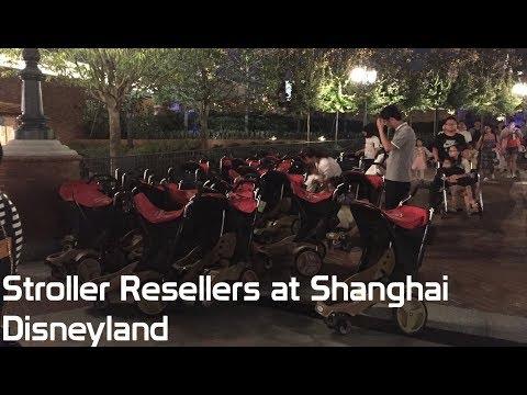 Stroller Resellers at Shanghai Disneyland