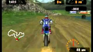 McGrath vs. Pastrana: Freestyle Motocross (PlayStation One)