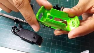 แกะแพ้ครีวิว Tomica Cooldrive Honda Brio และทดสอบเปลี่ยนล้อแบบต่างๆ.