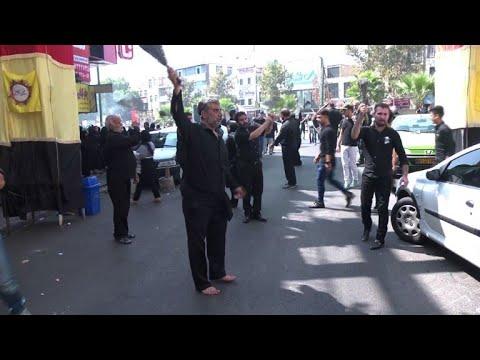 المسلمون الشيعة يحيون ذكرى عاشوراء في طهران
