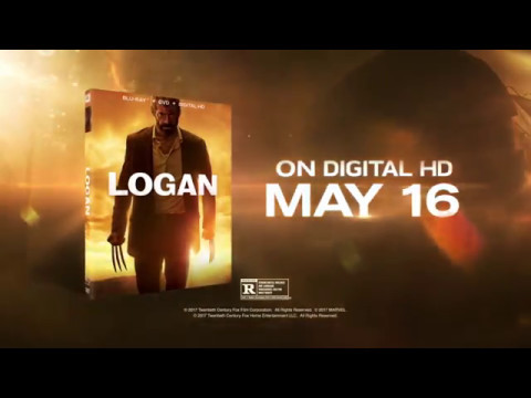 LOGAN (2017) Blu-Ray / DVD Trailer (May 23) HD