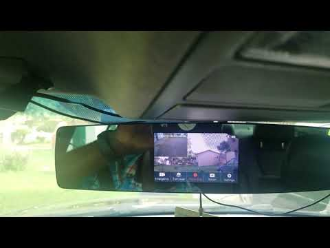 YI Mirror Dash Cam Review After A Few Months